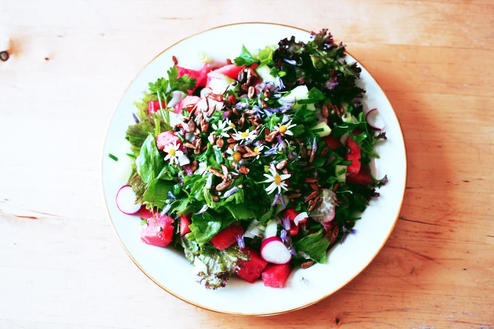 Sommeranfangs Salat
