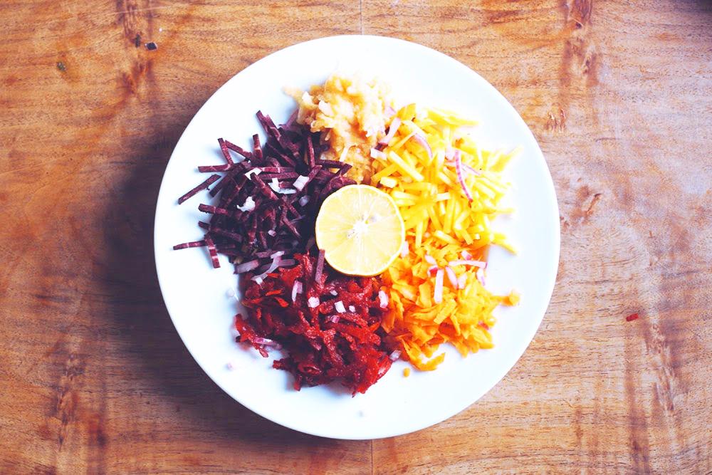 bunter Karottensalat