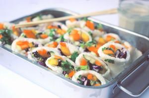 Sommerrollen-Sushi