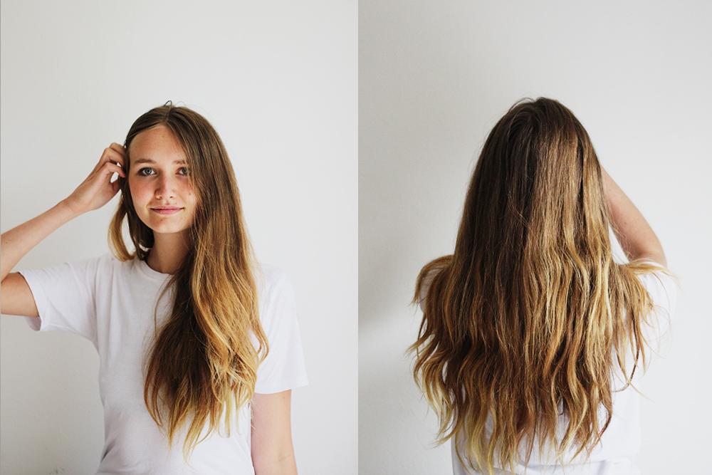 Haare farben shampoo waschen
