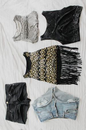 Leben ohne neue Kleidung
