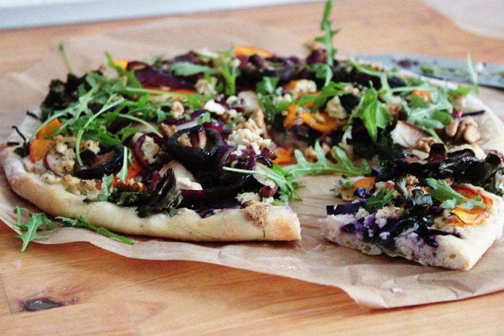 vegane Winter Pizza | saisonal