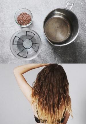 Haargel aus Leinsamen selber machen | natürliche locken